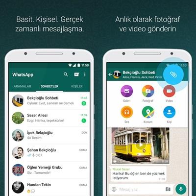 WhatsApp İndir Konusu içinde Whatsapp Messenger Ekran Görüntüleri