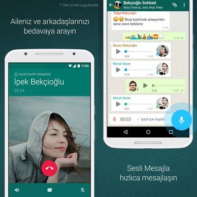 WhatsApp İndir Konusu içinde Whatsapp Messenger Ekran Görüntüsü